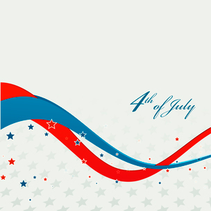 American Independence Day  Patriotic background. Vector illustrationのイラスト素材 [FYI03089780]