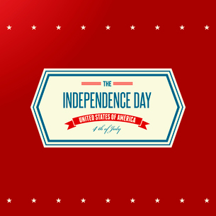 American Independence Day  Patriotic background. Vector illustrationのイラスト素材 [FYI03089782]