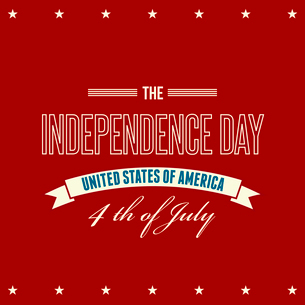 American Independence Day  Patriotic background. Vector illustrationのイラスト素材 [FYI03089786]