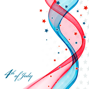 American Independence Day  Patriotic background. Vector illustrationのイラスト素材 [FYI03089788]
