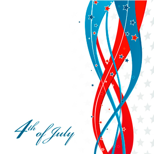 American Independence Day  Patriotic background. Vector illustrationのイラスト素材 [FYI03089792]