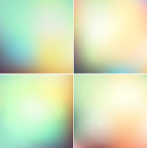 Vector illustration Smooth colorful background EPS 10のイラスト素材 [FYI03089825]