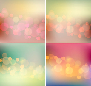 Vector illustration of soft colored abstract backgroundのイラスト素材 [FYI03089841]