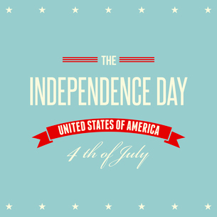 American Independence Day  Patriotic background. Vector illustrationのイラスト素材 [FYI03089845]
