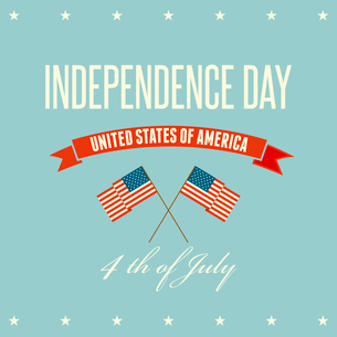 American Independence Day  Patriotic background. Vector illustrationのイラスト素材 [FYI03089846]