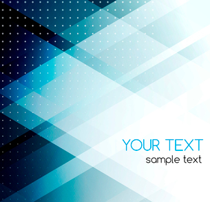 Vector color abstract geometric banner with triangle.のイラスト素材 [FYI03089853]