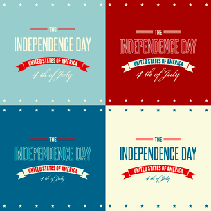 American Independence Day  Patriotic background. Vector illustrationのイラスト素材 [FYI03089855]