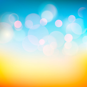 Vector illustration of soft colored abstract backgroundのイラスト素材 [FYI03089858]