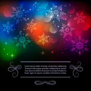 Vector illustration Christmas vintage background. EPS 10のイラスト素材 [FYI03089902]