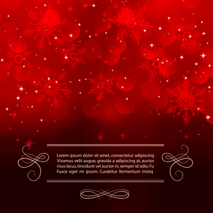 Vector illustration Christmas vintage background. EPS 10のイラスト素材 [FYI03089904]
