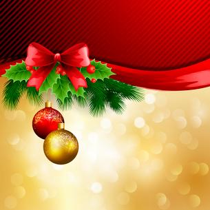 Christmas greetingのイラスト素材 [FYI03089925]
