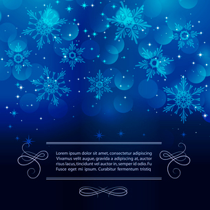 Vector illustration Christmas vintage background. EPS 10のイラスト素材 [FYI03090023]
