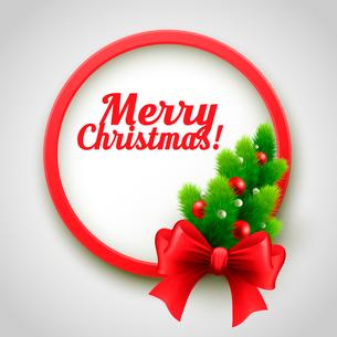 Merry Christmas Design. Vector illustration. EPS 10のイラスト素材 [FYI03090154]