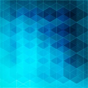 Blue mosaic background  Vector illustration. EPS 10のイラスト素材 [FYI03090175]