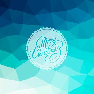 Merry Christmas Lettering Design. Vector illustration. EPS 10のイラスト素材 [FYI03090186]