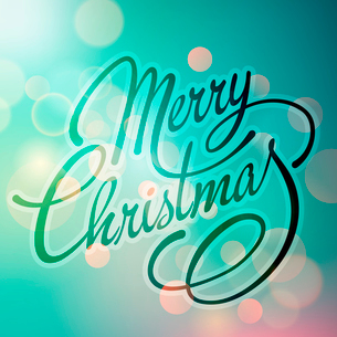 Merry Christmas Lettering Design. Vector illustration. EPS 10のイラスト素材 [FYI03090216]