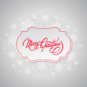 Merry Christmas greeting card.  Vector illustration. EPS 10のイラスト素材 [FYI03090237]