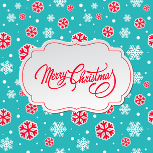 Merry Christmas greeting card.  Vector illustration. EPS 10のイラスト素材 [FYI03090239]