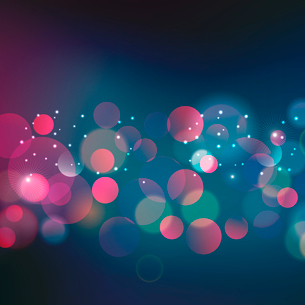 Vector  illustration Abstract Christmas red light backgroundのイラスト素材 [FYI03090255]