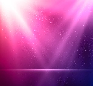 Vector  illustration Abstract magic violet light backgroundのイラスト素材 [FYI03090282]