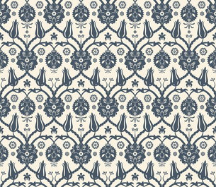 Seamless Oriental Arabic Royal Pattern. Vector Illustrationのイラスト素材 [FYI03090322]