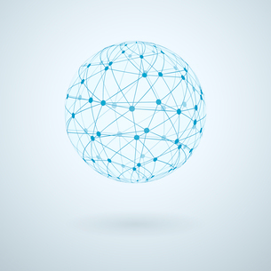 Global communication internet network icon vector illustrationのイラスト素材 [FYI03090571]
