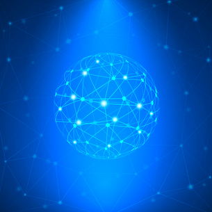 Global communication internet network icon vector illustrationのイラスト素材 [FYI03090586]