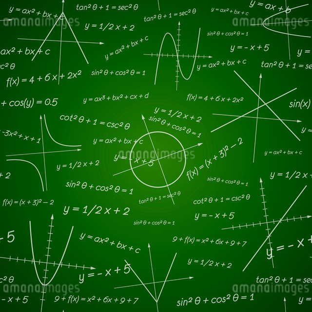 School chalk board vector illustration science backgroundのイラスト素材 [FYI03090755]