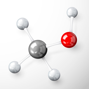 3d chemical science molecule model concept  over white background vector illustrationのイラスト素材 [FYI03091676]
