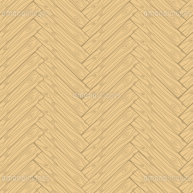 Light wooden or laminate parquet cartoon doodle style texture seamless pattern vector illustrationのイラスト素材 [FYI03091790]