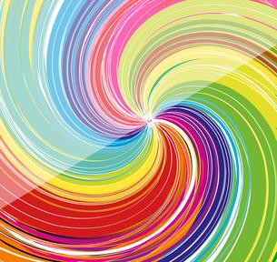 colorful swirl background, vectorのイラスト素材 [FYI03092697]