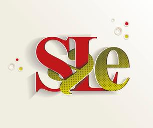 Hand-drawn sale letteringのイラスト素材 [FYI03092716]
