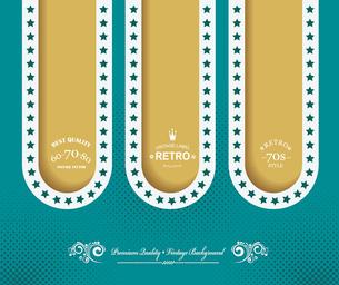 Vintage Web design. Vector Illustration.のイラスト素材 [FYI03092760]