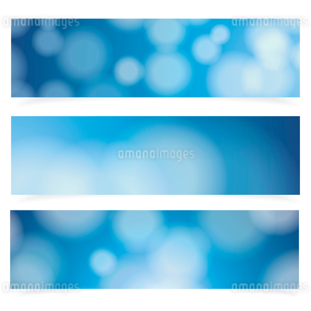 Abstract cover blue background, vector banners set.のイラスト素材 [FYI03092774]
