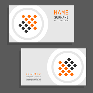 Set of cards for business. A vector illustrationのイラスト素材 [FYI03092800]