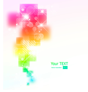 Vector illustration Abstract background with square shapesのイラスト素材 [FYI03092898]