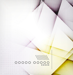 Geometric diamond shape abstract background - hi-tech corporate blank design templateのイラスト素材 [FYI03093159]