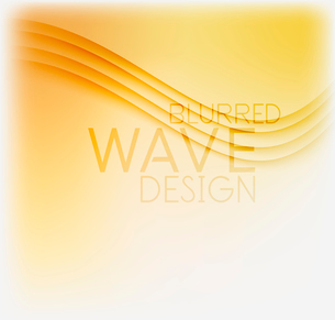 Textured blurred color wave background. Futuristic hi-tech modern business or technology design tempのイラスト素材 [FYI03093190]
