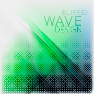Textured blurred color wave background. Futuristic hi-tech modern business or technology design tempのイラスト素材 [FYI03093194]