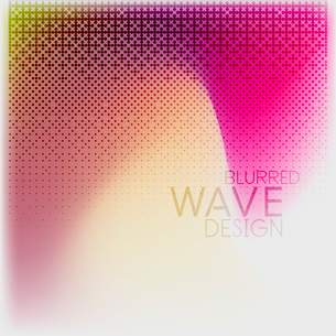 Textured blurred color wave background. Futuristic hi-tech modern business or technology design tempのイラスト素材 [FYI03093196]