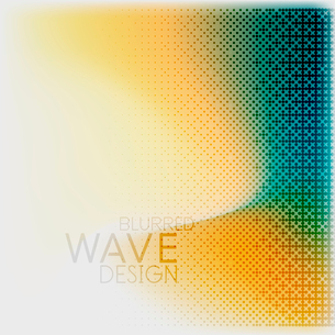 Textured blurred color wave background. Futuristic hi-tech modern business or technology design tempのイラスト素材 [FYI03093199]