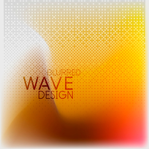Textured blurred color wave background. Futuristic hi-tech modern business or technology design tempのイラスト素材 [FYI03093201]