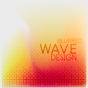 Textured blurred color wave background. Futuristic hi-tech modern business or technology design tempのイラスト素材 [FYI03093220]