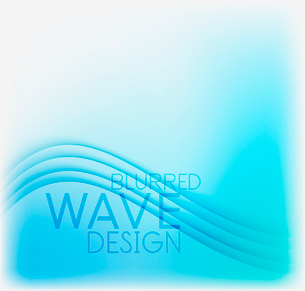 Textured blurred color wave background. Futuristic hi-tech modern business or technology design tempのイラスト素材 [FYI03093221]