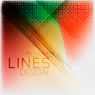 Textured blurred color wave background. Futuristic hi-tech modern business or technology design tempのイラスト素材 [FYI03093222]