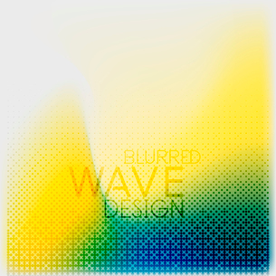 Textured blurred color wave background. Futuristic hi-tech modern business or technology design tempのイラスト素材 [FYI03093223]