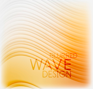 Textured blurred color wave background. Futuristic hi-tech modern business or technology design tempのイラスト素材 [FYI03093227]
