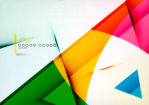 Arrow Geometric Shape Abstract Business Background. Graphic Design Templateのイラスト素材 [FYI03093294]