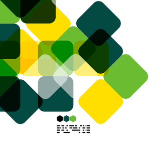Warm modern color geometric shape abstract background with copy spaceのイラスト素材 [FYI03093490]