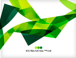 Bright colorful business flowing shapes design template. Futuristic wavesのイラスト素材 [FYI03093900]